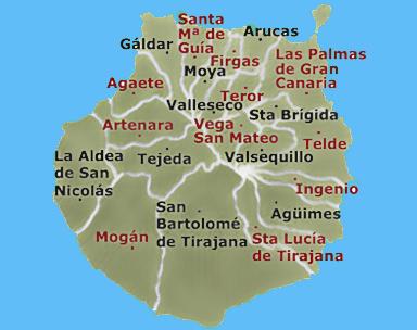 Guia de turismo de gran canaria vacaciones islas canarias - Isla de las palmas de gran canaria ...