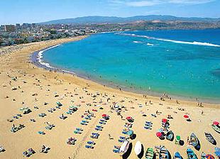 Playa de Las Canteras - Las Palmas de G.C.
