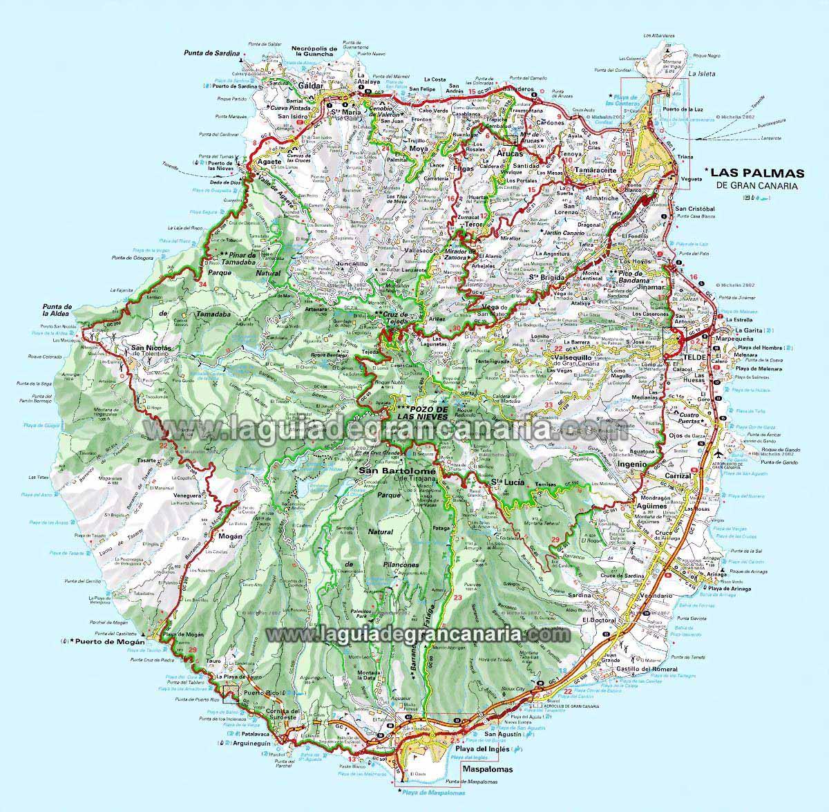 isla de canaria: