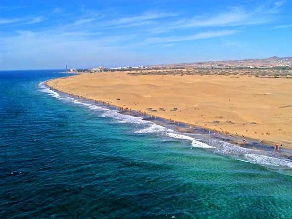 playa de maspalomas canarias